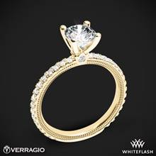 18k Yellow Gold Verragio Tradition TR150R4 Diamond 4 Prong Engagement Ring | Whiteflash