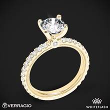 18k Yellow Gold Verragio Tradition TR180R4 Diamond 4 Prong Engagement Ring | Whiteflash