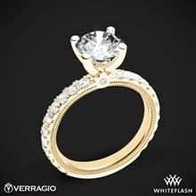 18k Yellow Gold Verragio Tradition TR210R4 Diamond 4 Prong Engagement Ring | Whiteflash