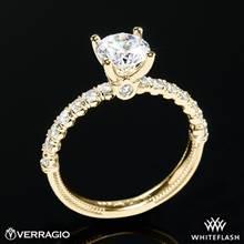 18k Yellow Gold Verragio V-950-R2.0 Renaissance Diamond Engagement Ring | Whiteflash
