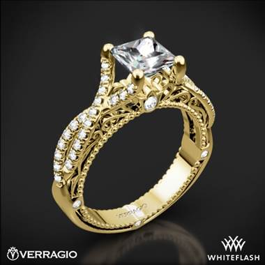 18k Yellow Gold Verragio Venetian Lido AFN-5003-2 Diamond Engagement Ring