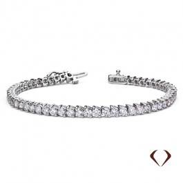 2.04 ct Diamond Bracelet Set In 14K White Gold 10000068