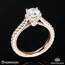 20k Rose Gold Verragio ENG-0460R Couture Diamond Engagement Ring | Whiteflash