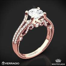 20k Rose Gold Verragio INS-7063R Insignia Diamond Engagement Ring | Whiteflash