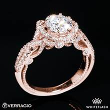 20k Rose Gold Verragio INS-7087R Insignia Diamond Engagement Ring | Whiteflash