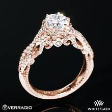 20k Rose Gold Verragio INS-7091R Insignia Diamond Engagement Ring | Whiteflash