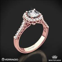 20k Rose Gold Verragio Renaissance 903CU6 Diamond Engagement Ring | Whiteflash