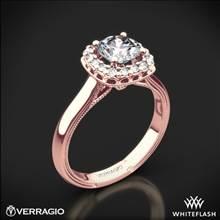 20k Rose Gold Verragio Renaissance 924CU Solitaire Engagement Ring | Whiteflash