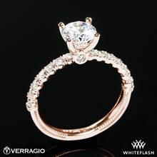 20k Rose Gold Verragio V-950-R2.0 Renaissance Diamond Engagement Ring | Whiteflash