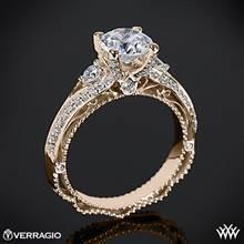 20k Rose Gold Verragio Venetian Lace AFN-5021R-4 Diamond Engagement Ring | Whiteflash