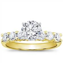 3/4 ct. tw. Six-Stone Engagement Setting | Adiamor