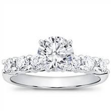 3/4 ct. tw. Six-Stone Engagement Setting   Adiamor