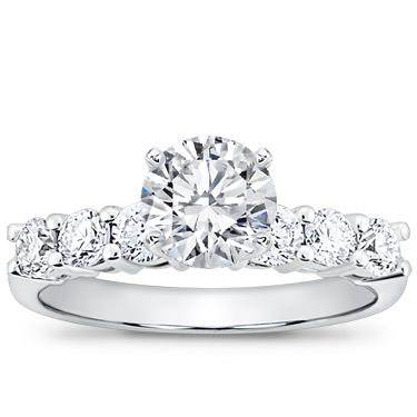 3/4 ct. tw. Six-Stone Engagement Setting