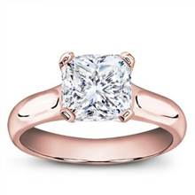 Basket Solitaire for Square Diamond | Adiamor
