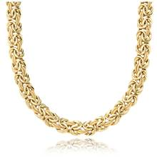 """""""Byzantine Necklace in 18k Italian Yellow Gold""""   Blue Nile"""