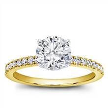 Classic Pave Engagement Setting | Adiamor