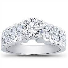 Diamond Engagement Setting (0.90 CTTW) | Adiamor