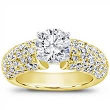 Diamond Pave Engagement Setting (1.46 CTTW)   Adiamor