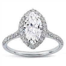 French Cut Halo for Marquise | Adiamor