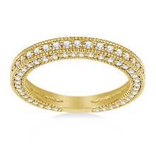 Ladies Diamond Band in 18K Yellow Gold (1.00 cttw.) | B2C Jewels