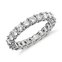 Luna Diamond Eternity Ring in Platinum (2 ct. tw.) | Blue Nile