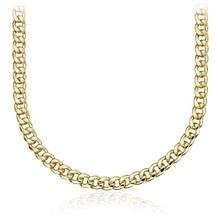 """Men's Miami Cuban Link Chain in 14k Yellow Gold"" 