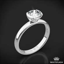 Palladium Eternal Love Solitaire Engagement Ring | Whiteflash