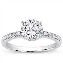 Pave Setting for Round Diamond | Adiamor