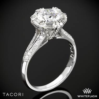 Platinum 2525RD7 Simply Tacori Diamond Engagement Ring