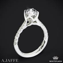 Platinum A. Jaffe ME2252Q  Diamond Engagement Ring | Whiteflash