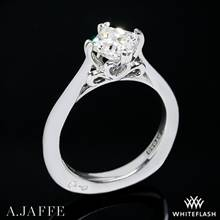 Platinum A. Jaffe MES438 Seasons of Love Solitaire Engagement Ring | Whiteflash