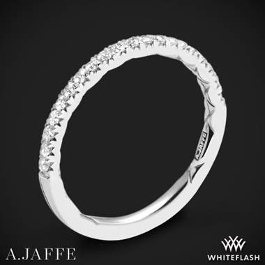 Platinum A. Jaffe MR2167Q Classics Diamond Wedding Ring