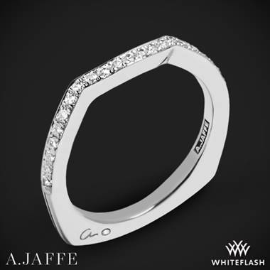 Platinum A. Jaffe MRS463 Seasons of Love Diamond Wedding Ring