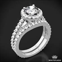 Platinum Amphora Diamond Wedding Set | Whiteflash