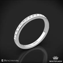 Platinum Benchmark Large Pave Diamond Wedding Ring | Whiteflash