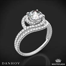 Platinum Danhov AE162 Abbraccio Diamond Engagement Ring | Whiteflash