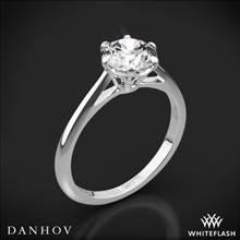 Platinum Danhov CL117 Classico Solitaire Engagement Ring | Whiteflash