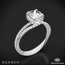 Platinum Danhov ZE101 Eleganza Diamond Engagement Ring | Whiteflash