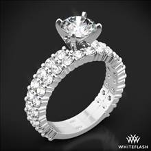 Platinum Diamonds for an Eternity Three Quarter Diamond Wedding Set | Whiteflash