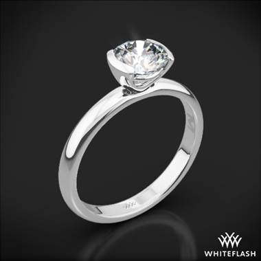 Platinum Eternal Love Solitaire Engagement Ring