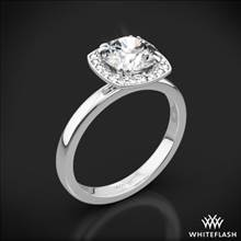 Platinum Guinevere Solitaire Engagement Ring | Whiteflash