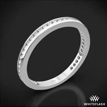 Platinum Honey Channel-Set Diamond Wedding Ring   Whiteflash