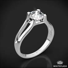 Platinum Katie Solitaire Engagement Ring | Whiteflash