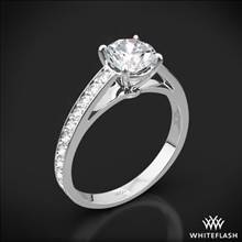 Platinum Serendipity Diamond Engagement Ring | Whiteflash
