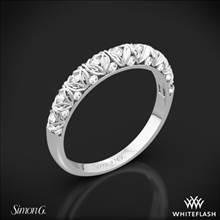 Platinum Simon G. LP1582-B Duchess Diamond Wedding Ring | Whiteflash