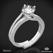 Platinum Simon G. MR1939 Fabled Diamond Wedding Set | Whiteflash