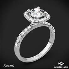 Platinum Simon G. MR2132 Passion Diamond Engagement Ring | Whiteflash