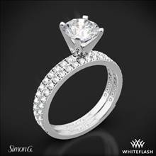 Platinum Simon G. PR148 Passion Diamond Wedding Set | Whiteflash
