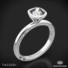 Platinum Tacori 300-2CU6 Starlit Diamond Engagement Ring | Whiteflash