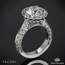 Platinum Tacori HT2605RD RoyalT Bloom Diamond Engagement Ring | Whiteflash